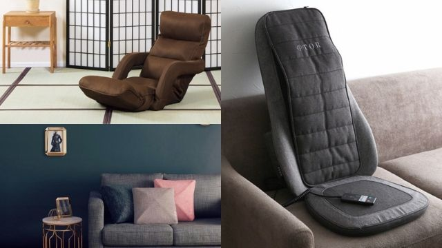 マッサージシート・マッサージクッション・座椅子タイプマッサージチェア