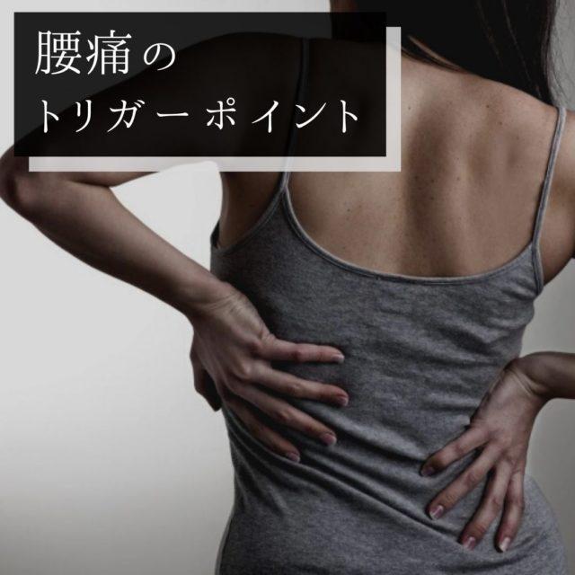 腰痛のツボ・トリガーポイントと原因となる筋肉